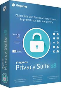 Steganos Privacy Suite 18 - license key - download (digital delivery)