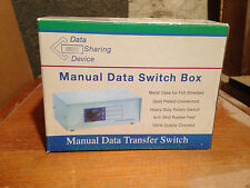 Manual Data Sharing Device Transfer Switch Box CSWM-HD151X4 HD15