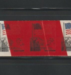 US ERROR Stamps: #1895d Flag, Court. Imperf, 2 splices, printed on tape!! MNH