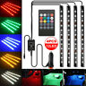 4IN1 LED RGB Ambientebeleuchtung Innenraumbeleuchtung Licht auto lampen 12V