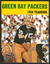 1964 GREEN BAY PACKERS YEARBOOK ~ SUPERB HIGH GRADE ~ BART STARR ~ BEST EVER