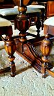 Antique Dining Room Set Berkey & Gay Dining Table w/6 Chairs Sideboard + Server