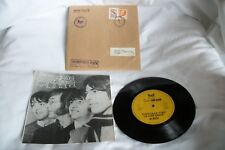 """Beatles """"Christmas Time"""" rare 7"""" vinyl for Yougoslavian fan club members only"""