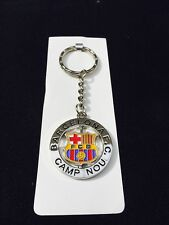 FC BARCELONA Keychain Excellent Design With Spinning Logo