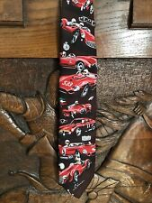 Tie by Dennis Simon 'Century of Speed' Signed limited Edition No 195 Brand Hatch