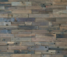 3D Echt-Holzriemchen GY-W606 Wall Panel from Old Schiffsholz 30 X 60 CM
