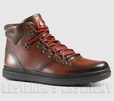 GUCCI Mens 10G* brown leather GREENFIELD Trekking BOOTS sneakers NIB Authen $870