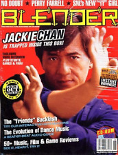 Jackie Chan - Blender: The Pop-Culture Magazine on CD-ROM - NEW - SEALED - RARE
