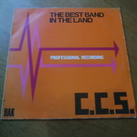"CCS ""The Best Band In The Land"" Vinyl LP RAK (1973) Alexis Korner John Cameron"