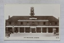 More details for postcard city fire station leicester leicestershire unposted real photo rp
