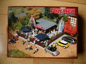 Modelbausatz Vollmer Biergarten Kiosk 3784 Spur H0
