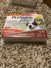 Pet Armor Plus For X-Large Dogs 6 pack 89-132lb Kills Flea & Ticks - Free Ship!