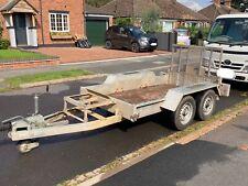 More details for indespension plant trailer 8x4 ft not ifor williams no vat
