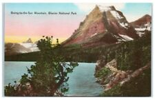 Mid-1900s Going-to-the-Sun Mountain, Glacier National Park, MT Postcard