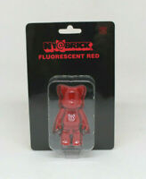 BEARBRICK MEDICOM TOY - Ny@brick Fluorescent red Be@rbrick 100% - NUEVO NEW
