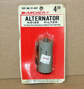 Rare Vintage ARCHER 21-507 Car Truck Auto Alternator Noise Filter Ham CB Mobile