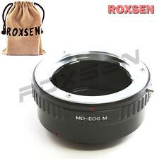 Roxsen Minolta MC MD SR mount lens To Canon EOS M EF-M mount Camera Adapter