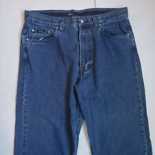 Hugo Boss Select Line Alabama Mens 36x36 Medium Wash Denim Jeans Shortened 35x30