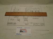 lionel  schematic wiring diagram for lionel 165 crane reprint