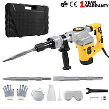 Demolition Jackhammer Jack Hammer Chisels Drill Set Concrete Breaker 1300W