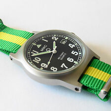 MWC G10 LM Military Watch Brazil Strap, Date, 50m Water Resistance NEW