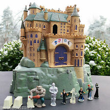 Polly Pocket Harry Potter Poudlard Château 100% COMPLET Sound Warner Bros
