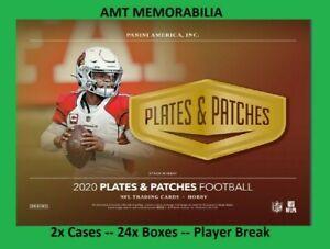 Jerry Jeudy Denver Broncos 2020 Panini Plates & Patches 2X CASE 24X BOX BREAK #2
