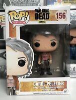 ⭐️The Walking Dead- Carol Peletier #156 Funko Pop POP! TV + Pop Protector⭐