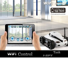 Small Wireless Remote Control Tank Car Vehicle with HD Camera By IOS Phone Pad