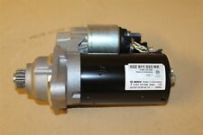VW Caddy T5 GP Starter Motor 2.0 Kw CHECK FIRST 02Z911023NX New genuine VW part