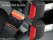 "Universal Car Seat Seatbelt Safety Belt Clip Extender Extension 2Pcs 7/8"" Buckle"