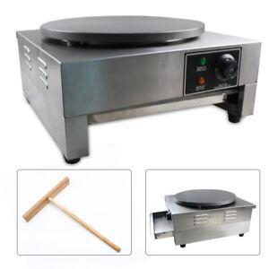 "SALE! 16"" Commercial Electric Crepe Maker Pancake Machine Big Hotplate  USA"