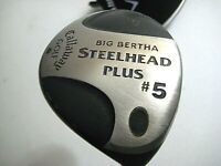 Callaway Big Bertha Steelhead Plus #5 Wood- M10 Steel Shaft & Original Grip