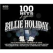 100 Hits Legends - Billie Holiday, Billie Holiday, Audio CD, New, FREE & FAST De