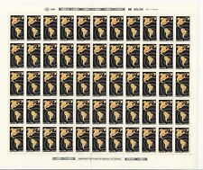 Brazil: 1988; Scott 2134 in complete sheet of 25 stamps, mint NH. BR14