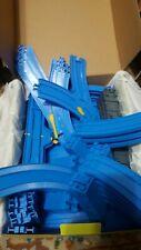 78 pc Lot Vintage 2001 Thomas The Train Tank Engine Blue Plastic Track Lifters