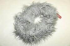 MERONA - Women's Faux Alpaca Fur Snood Infinity Cowl Scarf - GRAY NEW
