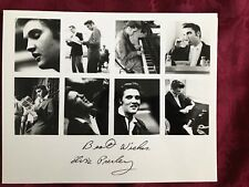 Vintage-ELVIS PRESLEY AUTOGRAPH SIGNED PHOTO COLLAGE Photocopy