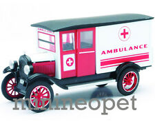 NEW RAY 55073 1924 24 CHEVY 1 TON SERIES H AMBULANCE TRUCK 1/32 DIECAST WHITE
