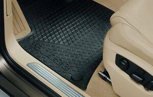 Volkswagen VW Touareg Fußmatten Gummi hinten Schwarz Typ 7P 7P0061511  041