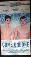 Come Undone (VHS) Rare 2000 French coming-out romance; English subtitles
