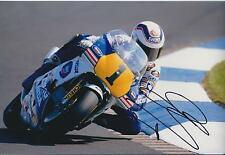 Wayne GARDNER 12x8 SIGNED HONDA Rider Photo Autograph AFTAL COA Donnington Park