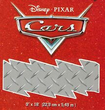 Pixar CARS Chrome Plate - 36 feet  - FREE USA SHIP - Wallpaper Border 91
