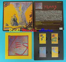 MC YES Years Yesyears 1991 u.s.a. BOX 4 MC ATCO 7 91644-4 cd lp dvd vhs