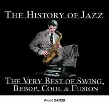 AAVV: The History Of Jazz: The Very Best Of Swing, Bebop, Cool & Fusion - CD