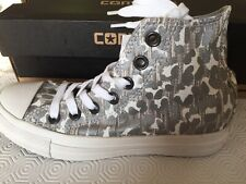 Rare Ladies Snow Leopard Converse All Star High Tops Size 3 Deadstock
