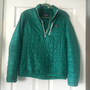 Patagonia Nano Puff Women's Pullover Lightweight Insulated Jacket Size M