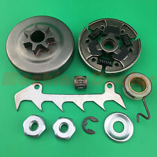 Chain Sprocket Clutch Drum Worm Gear Kit For Stihl MS230 023 MS250 025 MS210 021