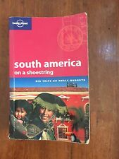 LONELY PLANET USED SOUTH AMERICA ON A SHOESTRING TRAVEL GUIDE BOOK AUS STOCK