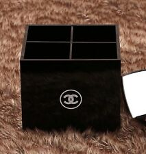 Brand New CHANEL Make Up Cosmetic Brushes Storage VIP Gift Box